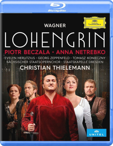 Anna Netrebko, Piotr Beczala / Wagner: Lohengrin (Blu-ray)