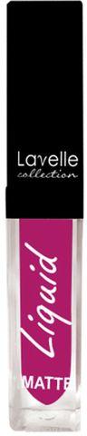 Лавелль жидкая матовая помада LS-10 тон 11 розово-лиловый 5мл