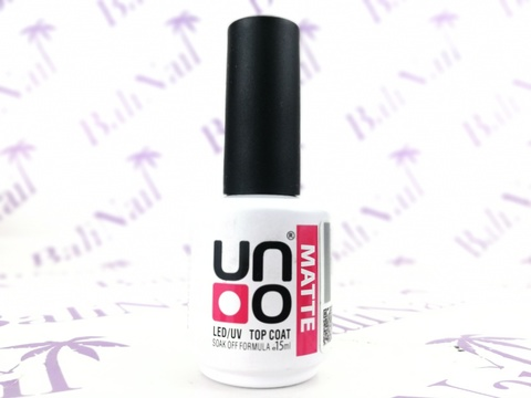 UNO, Верхнее покрытие для гель-лака Uno MATTE 10мл