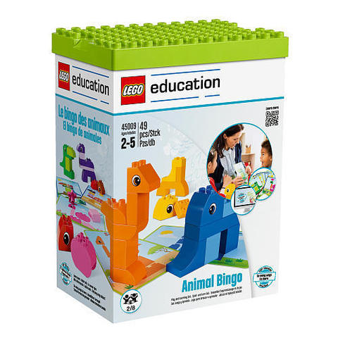 LEGO Education: Лото с животными DUPLO 45009 — Animal Bingo — Лего Образование