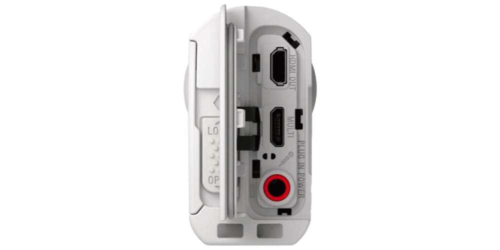 Экшн-камера Sony HDR-AS300 разъемы