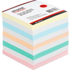 Блок-кубик ATTACHE ЭКОНОМ запасной 9х9х9 цветной