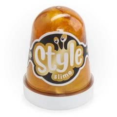 Slaym  Lori Style Slime 130ml qızılı banan qoxusu ilə