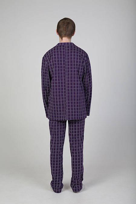 Выкройка классической мужской пижамы
