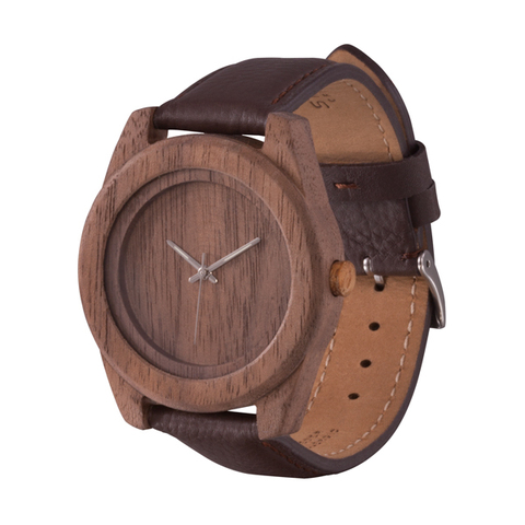 Часы из дерева AA Wooden Watches Терра Орех