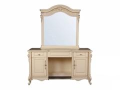 Туалетный столик с зеркалом Милано (8803-C MK-1839-IV) Слоновая кость
