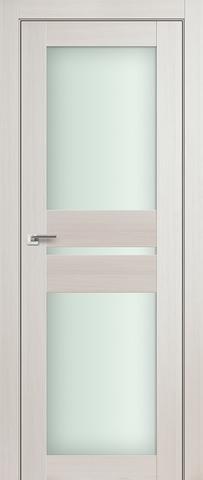 Дверь Profil Doors №70Х, стекло матовое, цвет эш вайт мелинга, остекленная