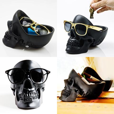 Органайзер для мелочей skull черный