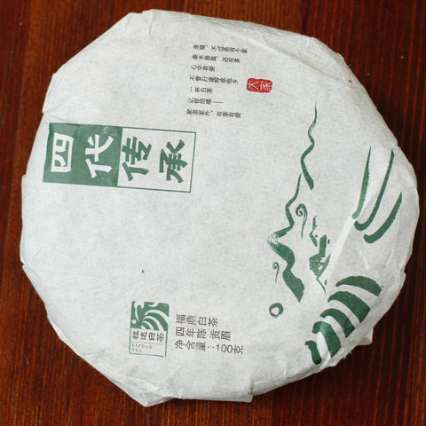 Сы Дай Чуан Чен Бин Ча, 2017, 100 г
