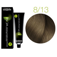 L'Oreal Professionnel INOA 8.13 (Светлый блондин пепельный золотистый) - Краска для волос