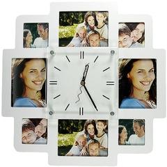Часы-фоторамка на 8 фото PROFFI