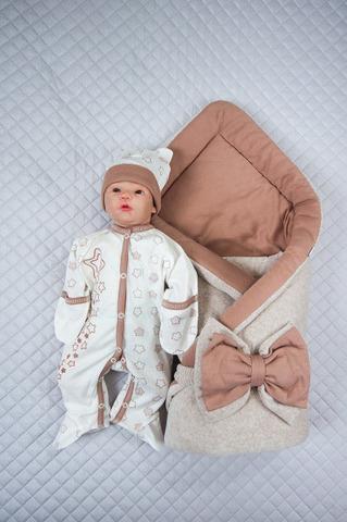 Комплект на выписку для новорожденных Осень