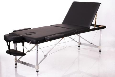 Массажный стол RESTPRO ALU 3 Black (EU)