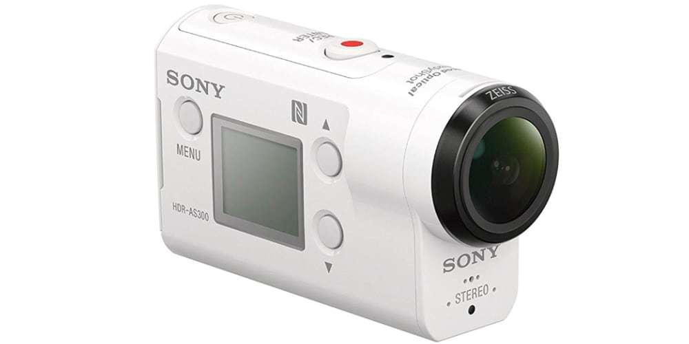 Экшн-камера Sony HDR-AS300 оптика