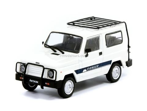 Autokam-2160 Ranger white 1:43 DeAgostini Auto Legends USSR #138