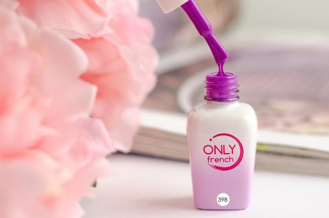 Гель-лак Only French, Violet Touch №398, 7ml