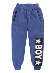BK918B-1 брюки для мальчиков, синие