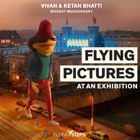 Flying Steps / Flying Pictures At An Exhibition (CD)