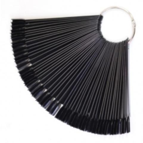 Палитра на кольце чёрный цвет (50 типсов)