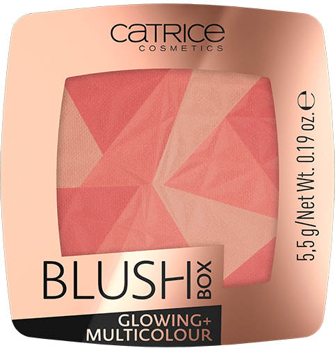 Catrice Blush Box Glowing+Multicolour румяна 5,5 г