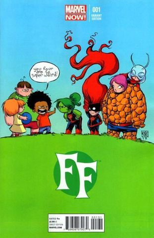 FF №1 (Variant Cover by Skottie Young)