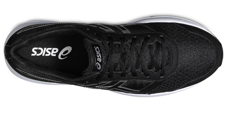 Мужские спортивные беговые кроссовки Asics Patriot 8 (T619N 9099) черные