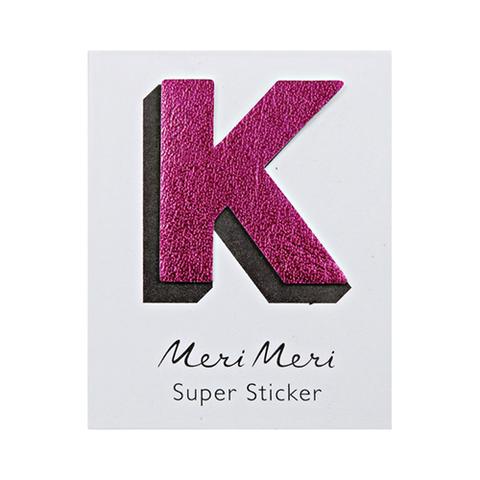 Стикер из кожзама K