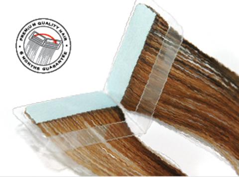 Ленточное наращивание 55 см (ленты 20 шт - 10 готовых двойных) Easy Volume