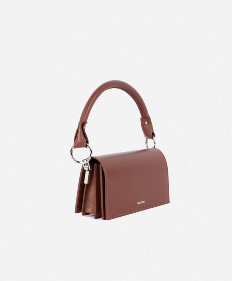 Ручка для сумки коричневая