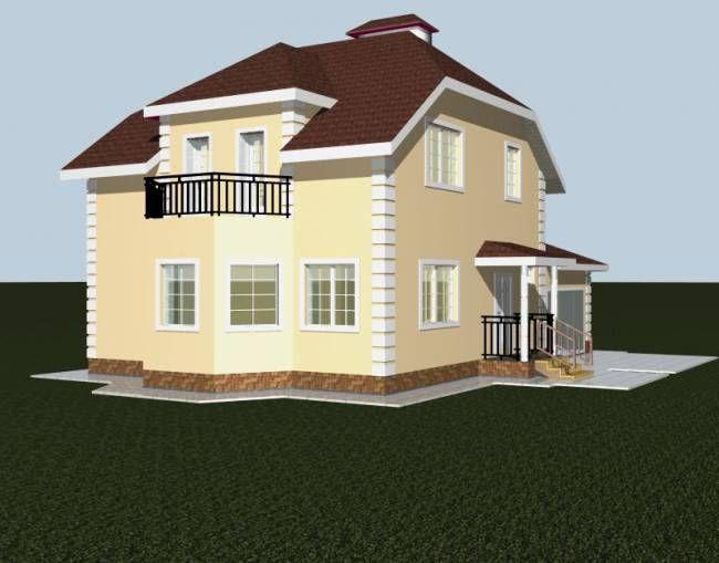 """Строительство каменных домов Дом из камня """"МД-К-160"""" 160 кв.м. 1_8.jpg"""