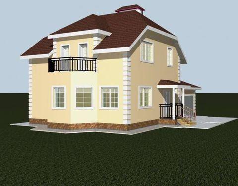 """Дом из камня """"МД-К-160"""" 160 кв.м."""