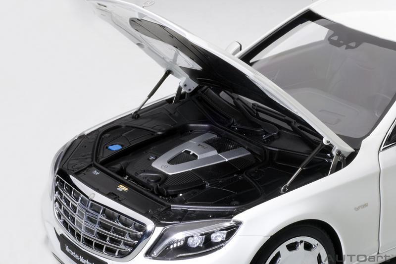 Коллекционная модель Mercedes-Benz Maybach S 600 Pullman LWB 2016 White