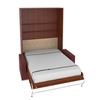 Шкаф-кровать с диваном вертикальная двуспальная 140 см
