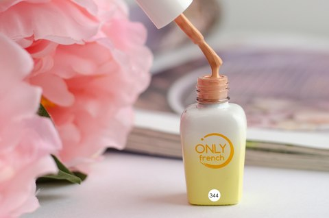 Гель-лак Only French, Yellow Touch №344, 7ml