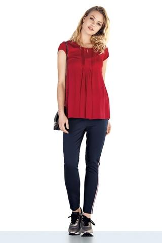 Блузка для беременных 09424 красный