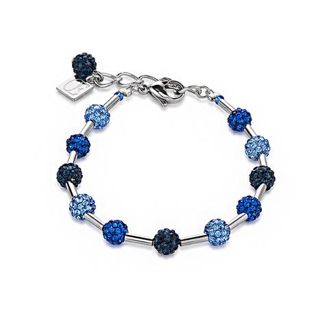 Браслет Coeur de Lion 4902/30-0700 цвет синий, голубой
