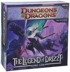 Dungeons and Dragons Boardgame: Legend of Drizzt / Подземелья и драконы: Легенда о Дзирте