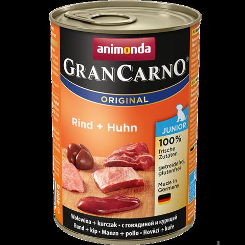 Консервы Animonda Gran Carno Original Junior с говядиной и курицей для щенков и юниоров