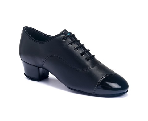 Туфли International La, Rumba Duo - Black calf/ black patent