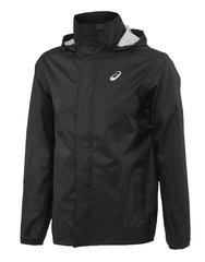 Мужская куртка дождевик для бега Asics Rain Jacket 142888 0904 черная