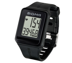 Пульсометр Sigma iD.Go 24500 черные, 3 функции