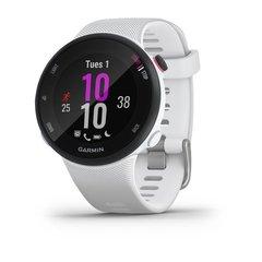Беговые GPS часы Garmin Forerunner 45S (белые) 010-02156-10