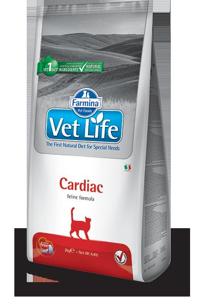 Ветеринарные диеты Ветеринарный корм для кошек FARMINA Vet Life CARDIAC при сердечной недостаточности farmina-vet-life-feline-cardiac_web.png