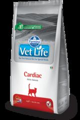Ветеринарный корм для кошек FARMINA Vet Life CARDIAC при сердечной недостаточности