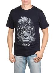 18712-2 футболка мужская, темно-синяя