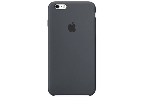 Apple iPhone 6/6S Plus Чехол Silicon Case (Черный)