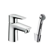 Смеситель для раковины с гигиеническим душем Hansgrohe Talis E 71729000 фото