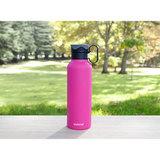 Стальная бутылка Hydrate с петелькой 600 мл, артикул 565, производитель - Sistema, фото 12