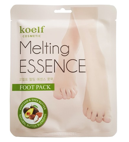 Petitfee Маска-носочки для ног Koelf Melting Essence Foot Pack