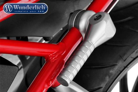 Ручка для подъема мотоцикла BMW R1200R LC/RS LC серебро